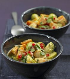 Vegetarisch: Rosenkohl-Curry