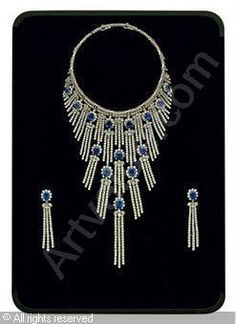 A DEMI-PARURE, (3) sold by Christie's, Dubai, on Wednesday, October 27, 2010