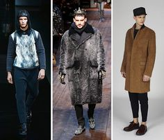 Credit: Vittorio Zunino Celotto/Getty Images Europe TextureLeft-right: Emporio Armani, Dolce & Gabbana, Marni...