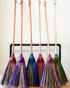 - Made in Indiana - 55-56 inches long - Premium grade broomcorn These high-quality, long-lasting, beautiful brooms are great for everyday use or special occasions. Handcrafted using century-old techni