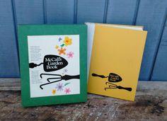 Vintage Garden Book - McCalls Garden Book by theindustrycottage on Etsy