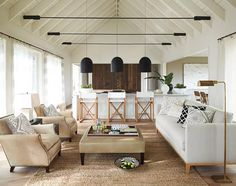 Stunning living room from Serena and Lilly.
