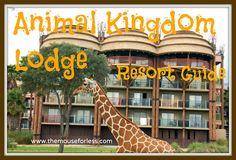Animal Kingdom Lodge Resort Guide from themouseforless.com #DisneyWorld #Vacation