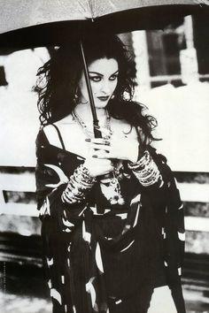 "Vogue Italia June 1992 ""Magic Jewels"" Model: Susie Bick Photographer: Ellen von Unwerth Stylist: Alice Gentilucci Hair: Yannick d'Is Makeup: Régine Bedot"