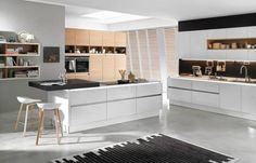 Kücheninsel mit L-Form | Spaces Where Eating Is A Pleasure: Kitchens ...