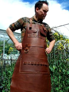 GIFT+CERTIFICATE+Custom+leather+apron+by+CyclonaDesigns+on+Etsy
