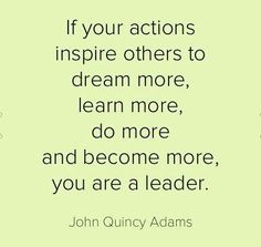 I am a Leader ~ Are you?