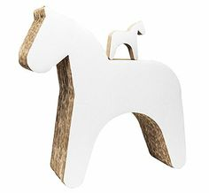 Trojan Horse / Stool Cardboard Toy - contemporary - kids toys - by OOTS! Cardboard Play, Trojan Horse, Cnc Projects, Designer Toys, Baby Room Decor, Kid Spaces, Diy Toys, Kids Decor, Kids Furniture