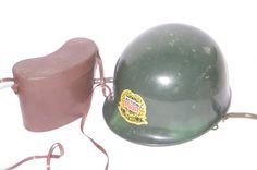 vintage plastic action man palitoy hasbro play patrol helmet and binoculars rare | eBay