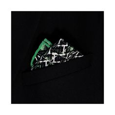 Darwin Forest Printed Silk Pocket Square - Lord Dotte