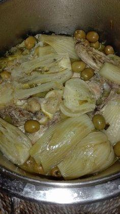 Un plat que j'adore et qui fait l'unanimité. À faire et à refaire... *Ingrédients : pour 4 personnes - 1 poulet coupé en morceaux ou choisir des cuisses - 1 Petit morceau de viande d'agneau juste pour le goût ( facultatif) - 1 cas de beurre + 2 cas d'huile...