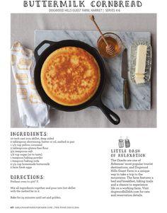 Glutenfree buttermilk cornbread Clipped from Arkansas Food & Farm | The Food Issue 2016