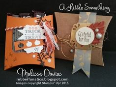 Stampin' Up! A Little Something - Rubberfunatics Stamp Set of the Month by Melissa Davies @rubberfunatics #rubberfunatics #stampinup