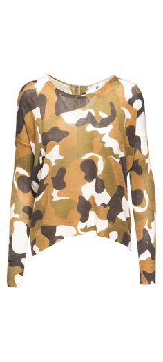R+D Camo Zip Up Back Sweater in Camo / Manage Products / Catalog / Magento Admin