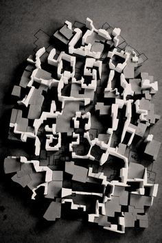 architectural model, maquette, modulo Definitely wanna do something like this together.