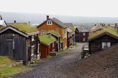 Røros Mining Copper Town, Norway. UNESCO World Heritage List, WHS.