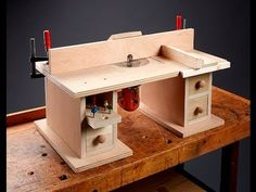 Benchtop Router Table - 273 - YouTube