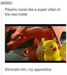 I Knew It, Pikachu is Evil!