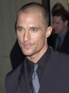 MATTHEW MCCONAUGHEY Bald PICTURES PHOTOS and IMAGES