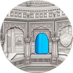 2016 Palau 2 oz $10 silver coin - Tiffany Art (Jain Art).