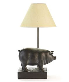 Another great find on #zulily! Pig Table Lamp #zulilyfinds