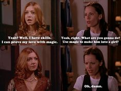 "Anya's big mistake. | Community Post: 20 Perfect ""Buffy The Vampire Slayer"" Moments That Filled You With Joy"