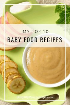 My top 10 baby food recipes you can make at home. Simple to make! Making your own baby food is quick and easy, and made even easier with these 10 baby food recipes your baby will love. Easy, healthy and nutritious. Baby Puree Recipes, Pureed Food Recipes, Baby Food Puree, Baby Chicken Puree Recipe, Healthy Baby Food, Food Baby, Baby Food With Meat, Apple Baby Food, 6 Month Baby Food