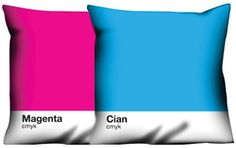 Pantone Pillow. If only they were sold in America and the site was in english, I'd be all over these bad boys.
