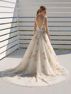 Mariella - by Donna Salado Rock, Bridal, Wedding Dresses, Fashion, Shell Tops, Appliques, Bridal Gown, Curve Dresses, Bride Gowns