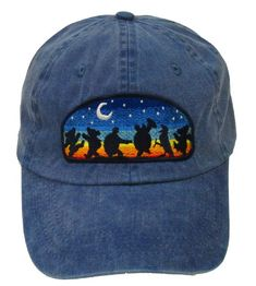 496c679ab5055 Grateful Dead Hat- Moondance Embroidered Baseball Cap   hat  Dead and  Company  Dancing