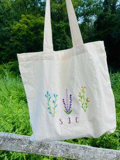 Eco Friendly Fall Bag Flower in a Vase Organic Cotton Eco Tote Bag Floral Boho Bag Plants Autumn Bag Botanical Market Bag