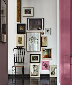 Small Berlin Apartment-Gallery Wall | http://fabulishliving.blogspot.ca/2013/11/small-berlin-apartment.html