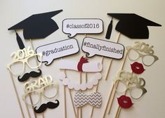 """""""Cover Story"""" Themed Graduation Party Ideas - Photo op props"""