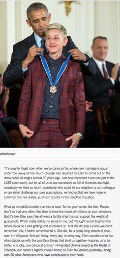 Ellen DeGeneres, absolute Queen