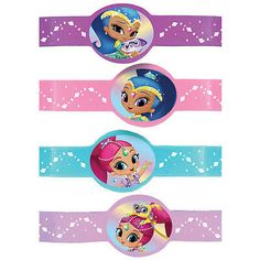 Shimmer And Shine Rubber Bracelets Birthday Party Supplies Favors Silicone Twin First Birthday, 3rd Birthday, Shimmer Y Shine, My Little Pony Dolls, Girl Birthday Decorations, 4th Birthday Parties, Childrens Party, Birthday Party Invitations, Party Themes
