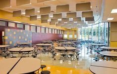 East Hamilton School Cafeteria  Natural Light Education Artech Design Group