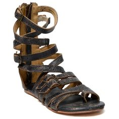 8dc44b62ce3 Women s Bed Stu Seneca Gladiator Sandal ( 135) ❤ liked on Polyvore  featuring shoes