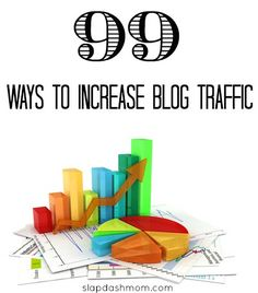 Looking for ways to increase your blog traffic? This post will give you 99 ways to increase blog traffic on your site!
