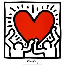 Keith Haring...classic contemporary