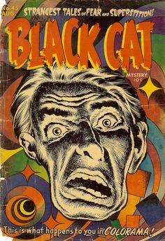 **** Black Cat Mystery #45 - 1953--full scan of the book!****