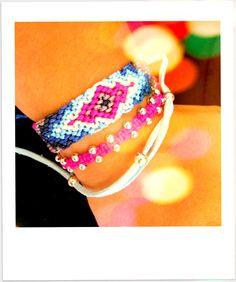 Friendship bracelet inspiration