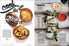 Women's Health magazine design More