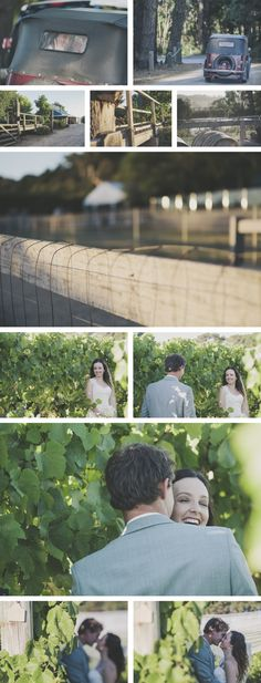 Melbourne Wedding Photography - Winery Shoot