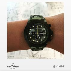 It looks like our new Velvety Chrono Camouflage has a new fan... thank you @n1ki14! Use #ToyWatch to share your #TWlove and have a chance to be featured. Click to see more! #ToyWatch #watch #watches #style #fashion #accessories #menswear #forhim #TWlove #Camouflage #chrono #army