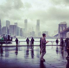 Hurricane Sandy @ Brooklyn Bridge
