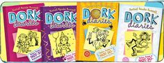Dork Diaries series....I love these books....I also read all of them too!!