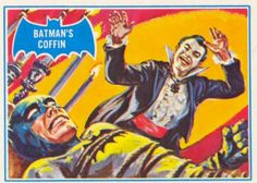 Batman trading card by Norman Saunders