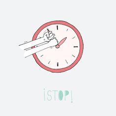 Rastros Ilustrados: ¡STOP!