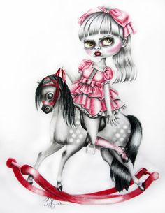 Artist – Marie Larkin provides some insight into her background and her art on the *bespoke* magazine blog http://www.bespokezine.com/bespoke-blog/