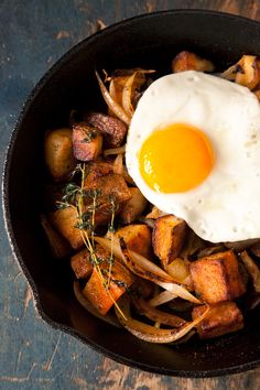 Egg & Potatoes #breakfast #recipe